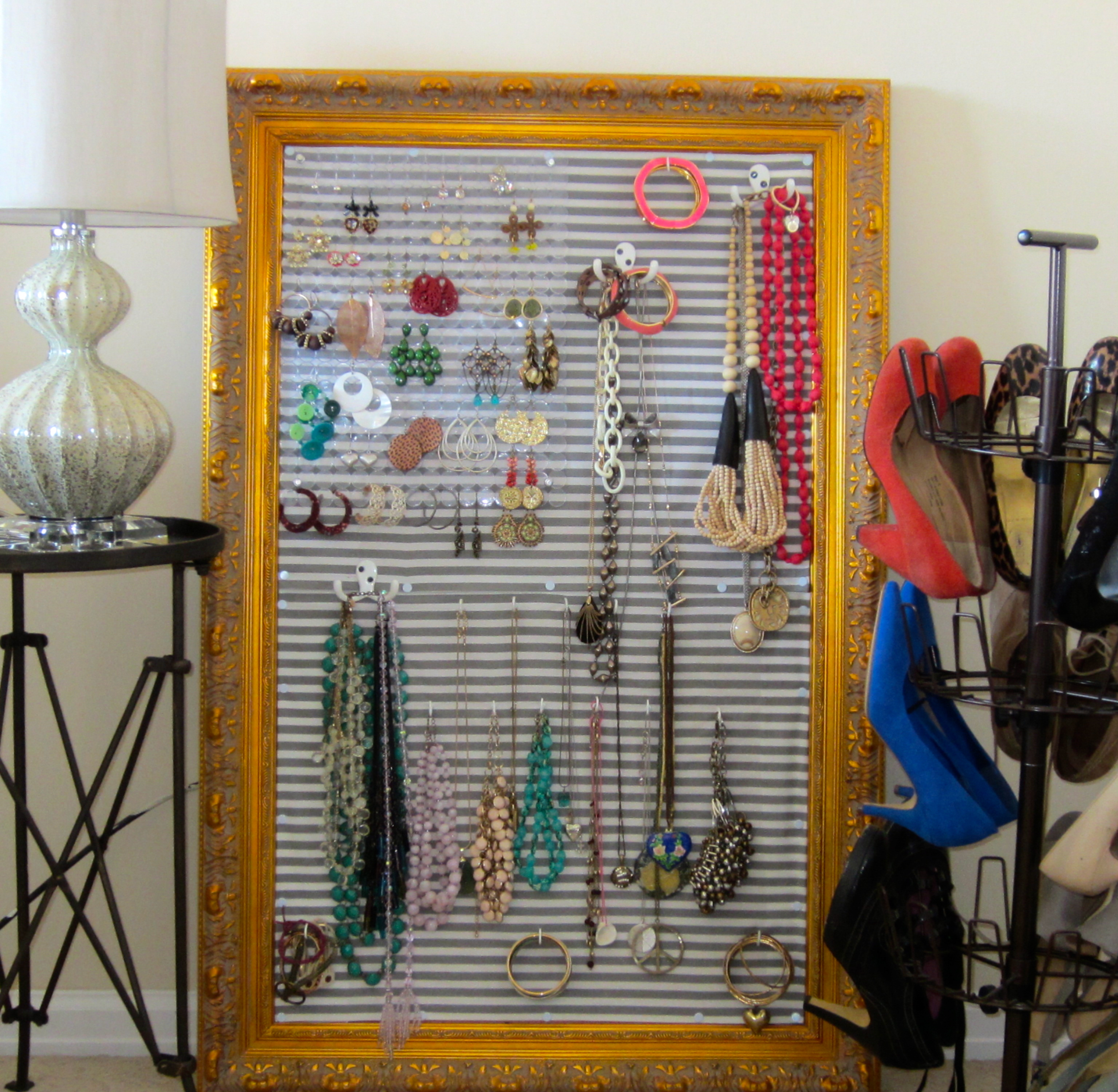 Jewelry corkboard nuts and bolts for Cork board pin display