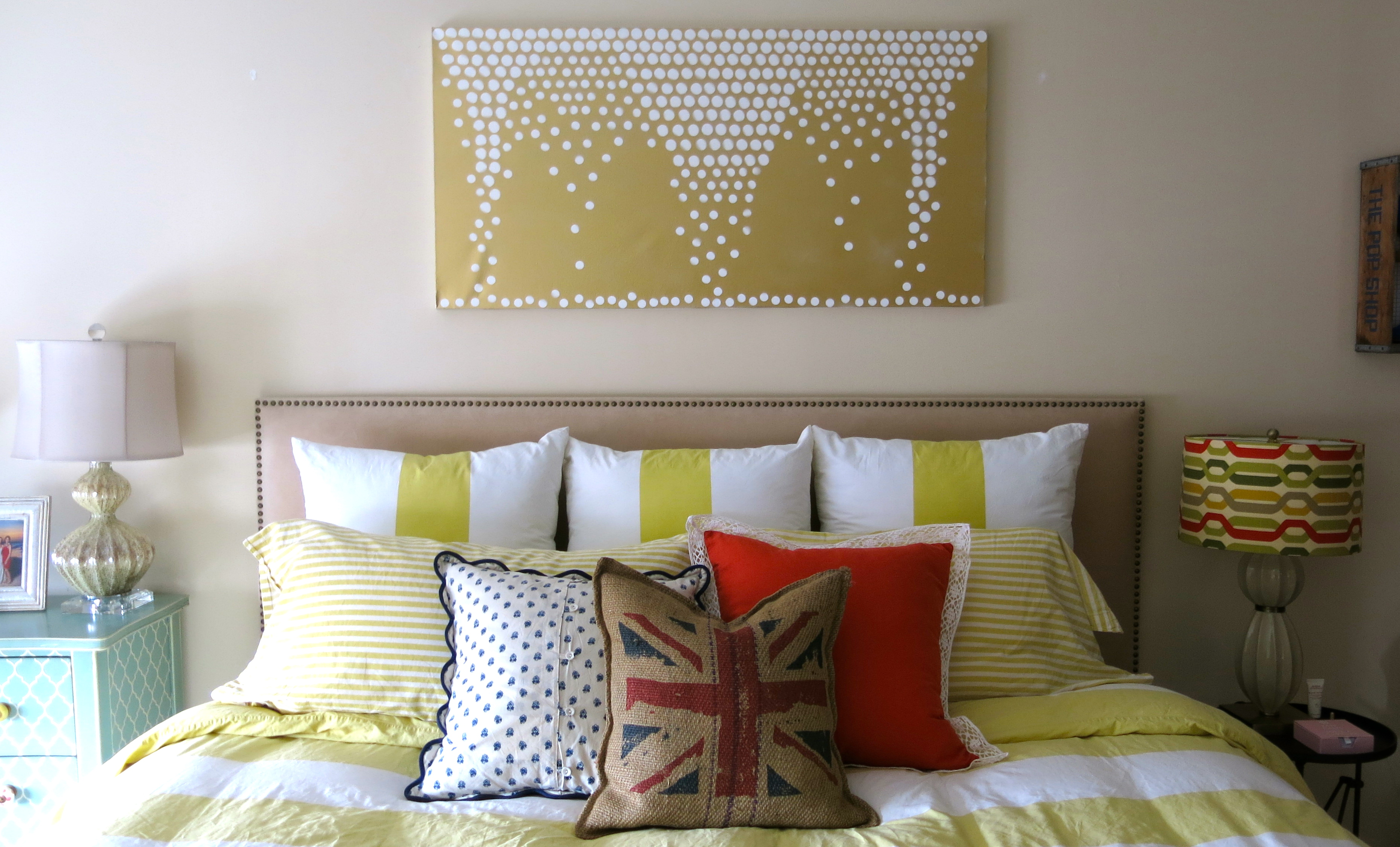 DIY: Canvas Wall Art | Nuts And Bolts