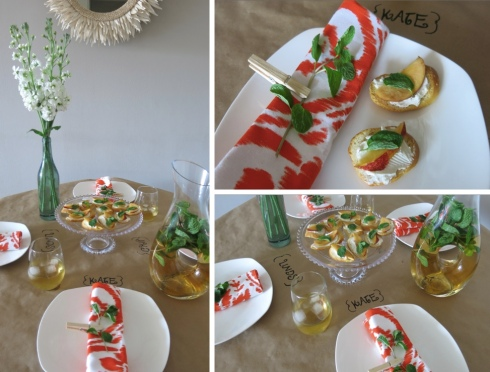 Mint Tablescape 2
