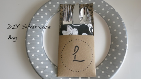 DIY Silverware Bag